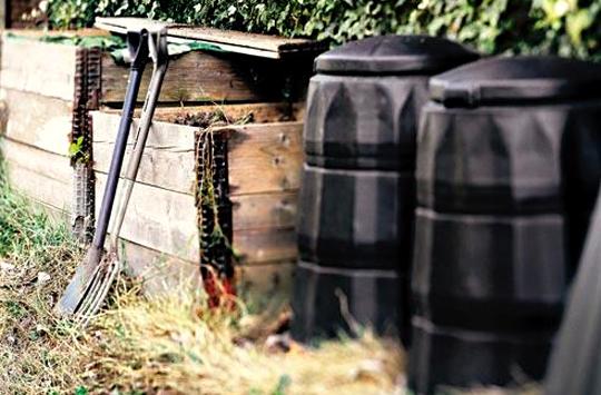 Компост. Использование садовых и бытовых отходов на участке.1
