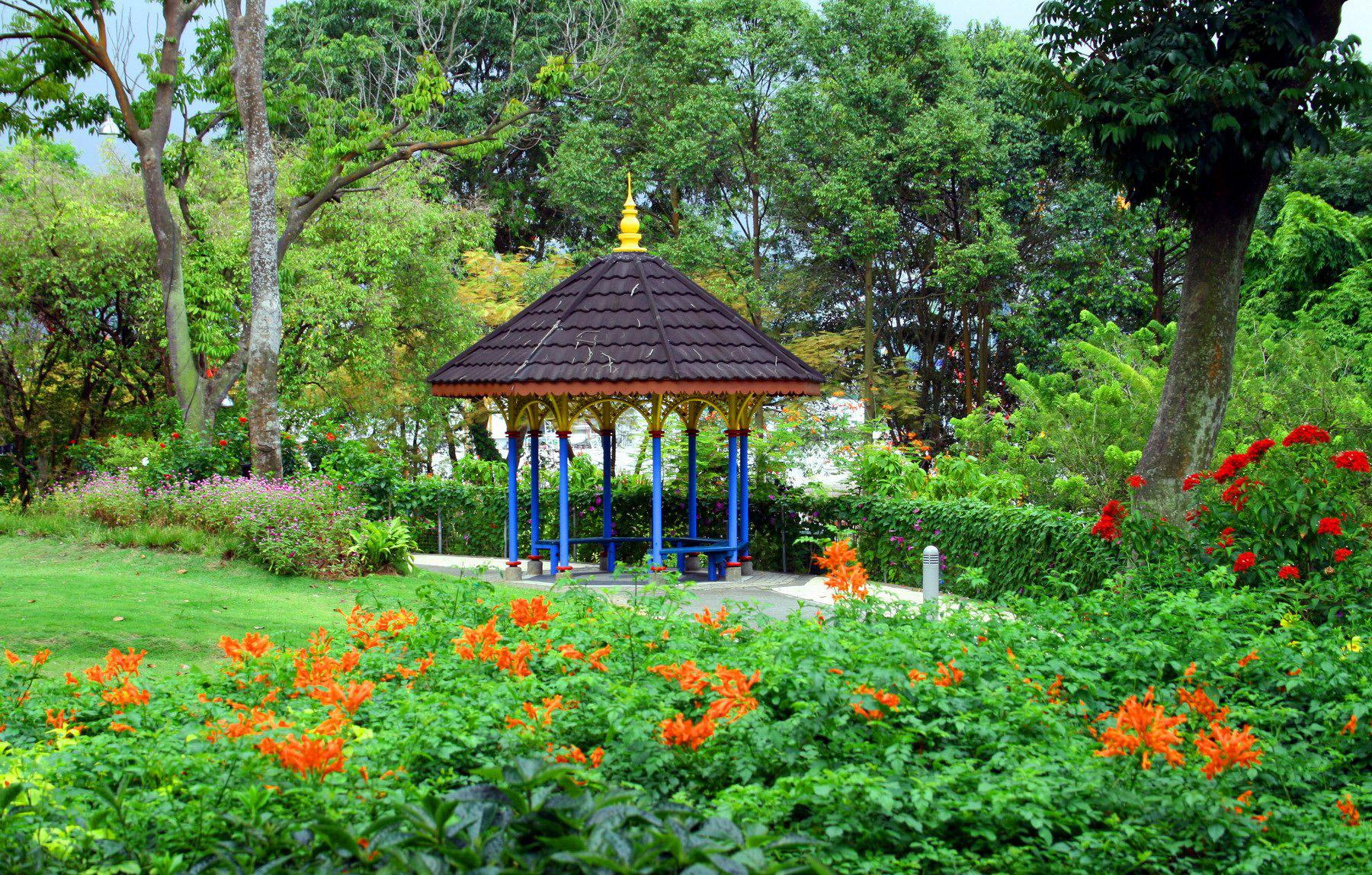 Сад: звуки и ароматы
