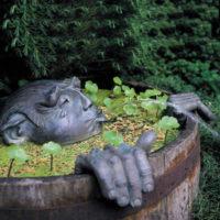 Садовая скульптура.3