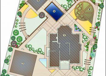 Ландшафтное проектирование 16
