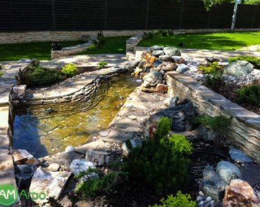 Декоративные водоемы и пруды 3