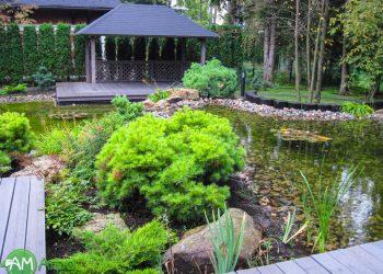 Декоративные водоемы и пруды 6