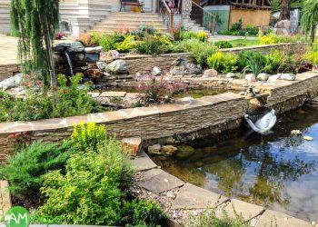 Декоративные водоемы и пруды 7
