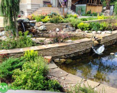 Декоративные водоемы и пруды 10