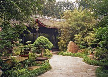 Китайский стиль в ландшафтном дизайне 5